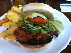 Burger review of The Corbet Arms