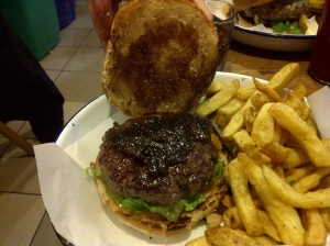 Guest burger review of Honest Burgers