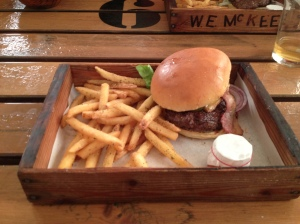 Burger review of The Oast House