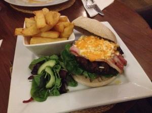 Burger review of Morgans