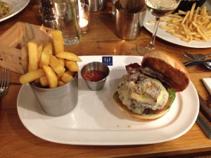 Burger review of Loch Fyne