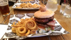 Burger review of Annie's Burger Shack