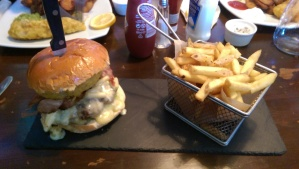 Burger review of The Waterfront in Shrewsbury